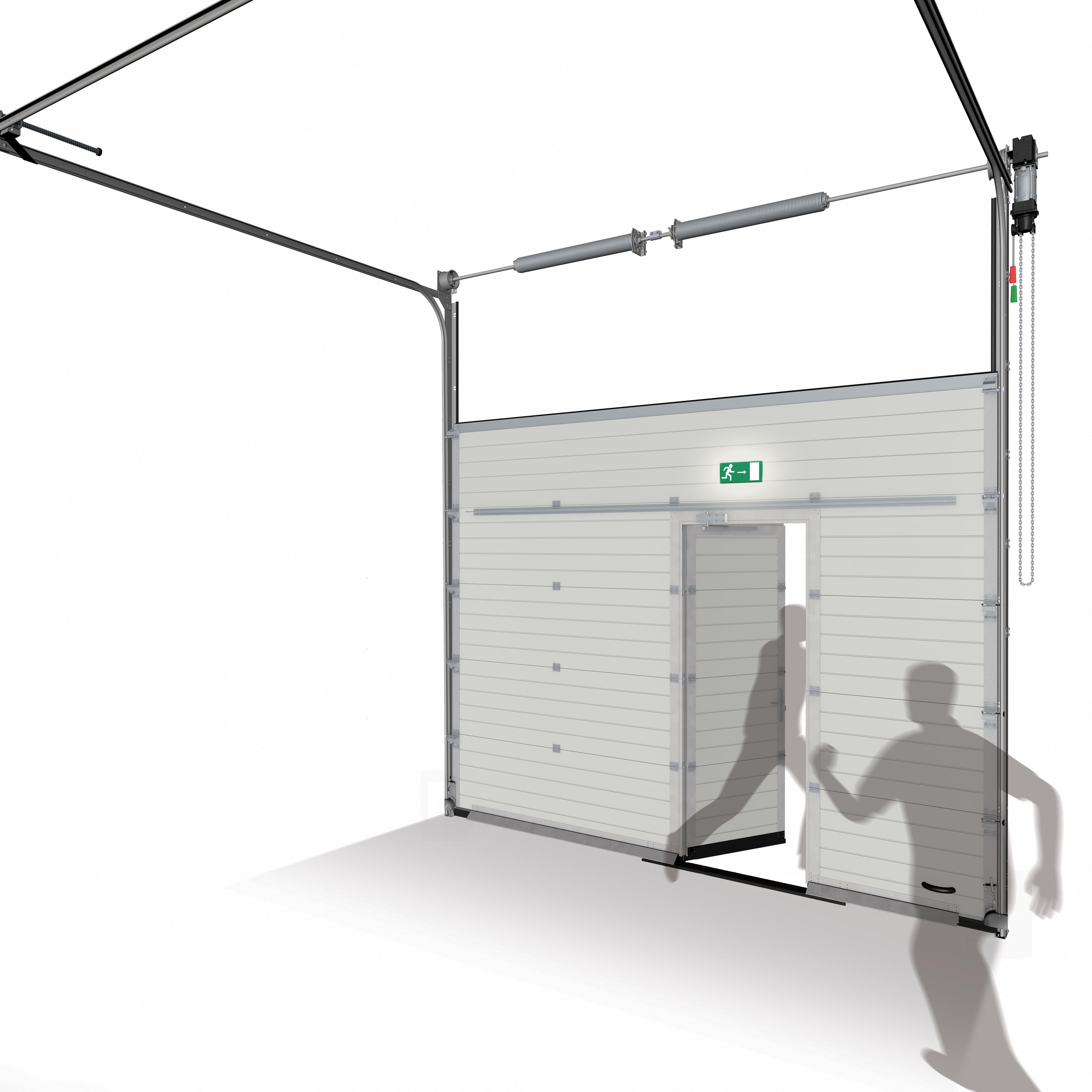 Sektionaltor ISO60 - Garagen und Industrietore. Verkauf, Wartung und ...